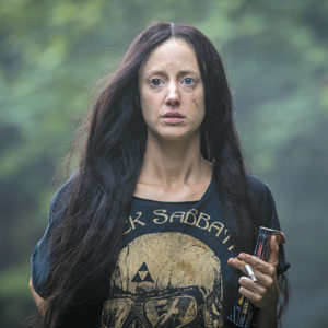 "Andrea Riseborough portrays the title character in ""Mandy."" (photo courtesy of RLJE Films)"