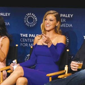 Last year's PaleyFest included a panel with Penny Johnson Jerald, Adrianne Palicki and Seth MacFarlane. (photo courtesy of The Lippin Group)