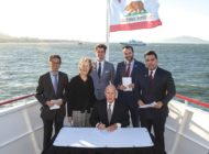 Allen legislation signed at Global Climate Summit