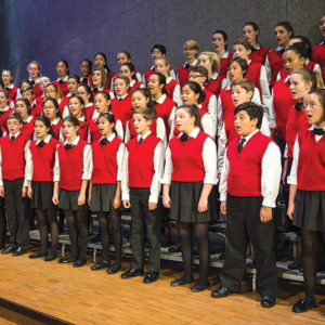 Los Angeles Children's Chorus' Artistic Director Fernando Malvar-Ruiz plans to bring the chorus to new and broader audiences, and increase the diversity of its membership. (photo by Jamie Pham)