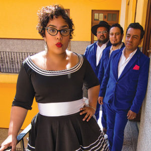 Blending Pan-American beats of cumbia, bossa nova and bolero with rock, ska and R&B, Los Angeles natives and Grammy Award winners La Santa Cecilia will celebrate their hometown on Oct. 14. (photo courtesy of LA Phil)