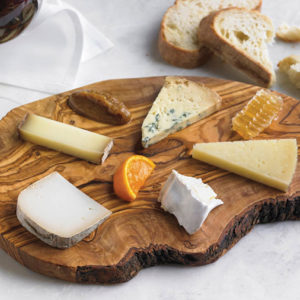 The cheese board at Wally's offers a variety of fromage, and the honeycomb is a sweet addition. (photo courtesy of Wally's)
