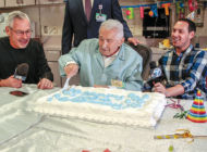 Cedars-Sinai celebrates volunteer's 100th birthday