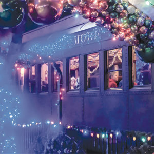 The Fillmore and Western Railway's holiday train excursions offer magical adventures for families. (photo courtesy of the Fillmore and Western Railway)