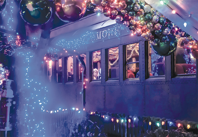 Sugarplum Express for a sweet holiday
