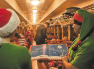 Vintage trains whisk passengers away for magical holiday adventures