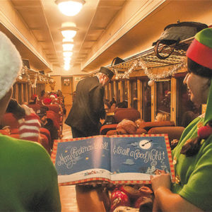 Vintage trains whisk passengers away