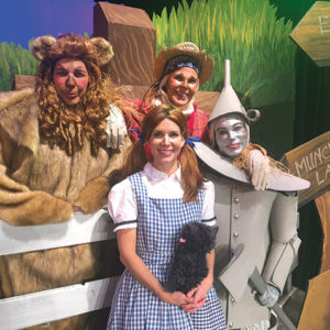 Revisit the classic tale of Dorothy and the Wizard of Oz with the Nine O'Clock Players' new production. (photo courtesy of Nine O'Clock Players/Jenny Brandt)