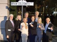 Beverly Hills dedicates Bram Goldsmith Way