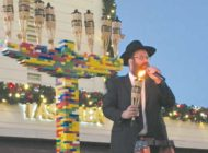Hanukkah celebrations 'add light to the world'