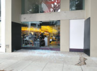 Burglars target luxury clothing pop-up shop
