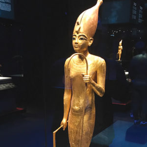 "Visit the ""King Tut: Treasures of the Golden Pharaoh"" exhibition at the California Science Center before it closes on Jan. 13. (photo by Jill Weinlein)"