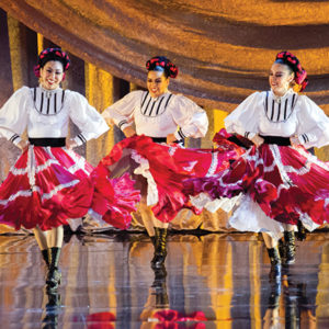 The Los Angeles County Holiday Celebration highlights the range of cultures found throughout the region. Last year, Pacifico Dance Company (above) was one of the many performers. (photo by Gennia Cui)