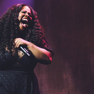 Amber Riley (photo by Blake Silva)