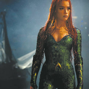 "Amber Heard portrays Princess Mera, the moral compass in ""Aquaman."" (photo courtesy of Warner Bros. Pictures)"