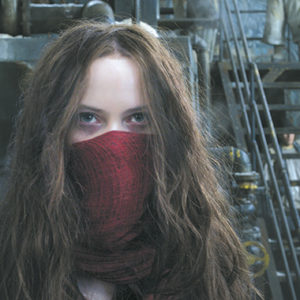 "Hera Hilmer portrays Hester Shaw in ""Mortal Engines,"" a sci-fi film with new ideas and familiar flaws. (photo courtesy of Universal Pictures)"