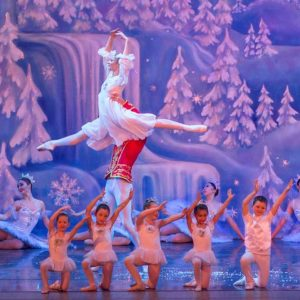 """Over 80 student dancers from the Los Angeles area will perform as mice, snowflakes and more alongside Moscow Ballet's professional ballerinas in the """"Great Russian Nutcracker."""" (photo courtesy of Moscow Ballet)"""