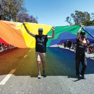 The annual Pride Parade returned to West Hollywood after a one-year hiatus when a Resist March was held. (photo courtesy of the city of West Hollywood/by Jon Viscott)