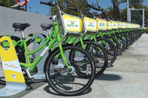 Despite some initial signs of growth after its first year, West Hollywood will end its current bike share program due to lagging ridership. (photo courtesy of Jon Viscott/city of West Hollywood)