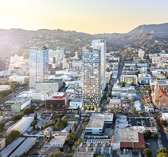 Sunset Park Apartments: Crossroads Hollywood Project To Transform Sunset Boulevard