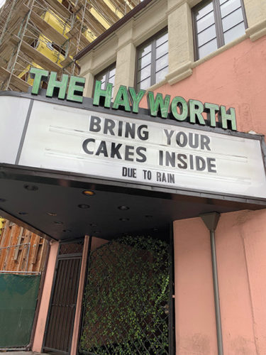 photo of Hayworth Theatre by Karen Villalpando