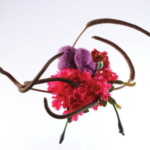 Ikebana is a Japanese tradition dating from the seventh century when altars featured floral offerings. (photo courtesy of the Japan Foundation)