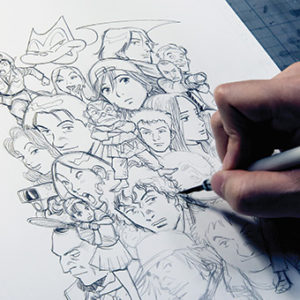 Learn about the Japanese comic style known as manga, which is a fusion of story and artwork evolving from picture book styles developed in the late 19th century, at Japan House Los Angeles. (photo © Naoki URASAWA / Studio Nuts)