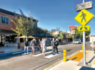 New crosswalk boosts safety at Hollywood Blvd. and Rodney Dr.