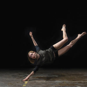 Hubbard Street Dance Chicago, which features dancer Emilie Leriche (above), will perform pieces choreographed by Emma Portner and Teddy Forance at The Wallis.  (photo by Quinn B. Wharton)