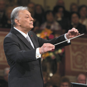 Zubin Mehta, the LA Phil's new conductor emeritus, has a long history with the orchestra dating to when he became music director at age 26. (photo by Terry Linke)