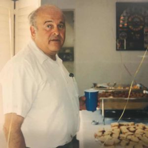 Alan Canter was remembered as a driving force at Canter's Deli, where he oversaw operations for decades and fixed any problem that arose. (photo courtesy of Marc Canter)