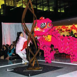 The city celebrated the Year of the Dog in 2018. (photo courtesy of the Beverly Hills Chamber of Commerce )