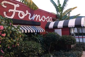 The Formosa Cafe is one of the most famous relics of a bygone Hollywood era. Under new ownership, it will reopen this spring. (photo by Luke Harold)