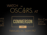 Commerson celebrates Oscar Sunday with special tasting menu