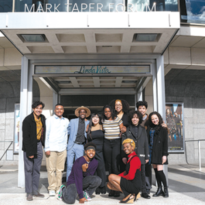 Twelve finalists will present monologues during the competition on March 11 at the Mark Taper Forum. (photo by Ericka Kreutz Photography)