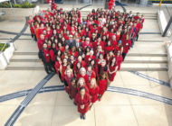 Cedars goes red to raise heart health awareness