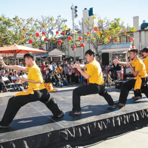 The Lunar New Year celebration will feature a kung fu demonstration, among many other fun activities. (photo courtesy of the Original Farmers Market)