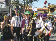 Laissez les bons temps rouler at the Farmers Market