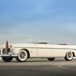 The Chrysler Imperial Parade Phaeton, which belonged to President Dwight D. Eisenhower, will appear in the Petersen Automotive Museum's Presidents Day parade. (photo courtesy of the Petersen)