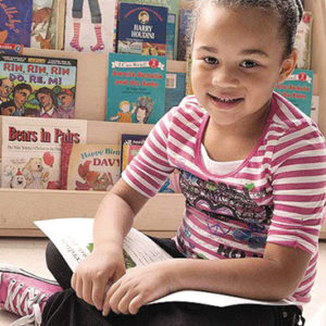 Children from birth through age 5 can benefit from Reach Out and Read programs which aims at improving their ability to learn and instilling a lifelong love of literature. (photo courtesy of Reach Out and Read)
