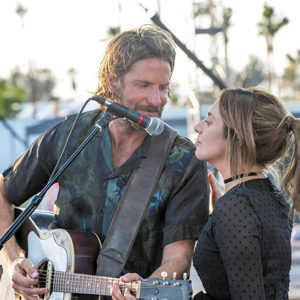 "Bradley Cooper stars as Jack and Lady Gaga appears as Ally in ""A Star is Born,"" a contender for Best Picture at this Sunday's Academy Awards. (photo courtesy of Warner Bros. Pictures)"