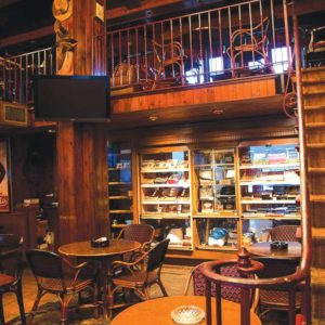 The Buena Vista Cigar Club, a popular hangout for residents and visitors in Beverly Hills, is one of almost 30 businesses that will be impacted by a potential law to ban tobacco sales. (photo courtesy of the Beverly Hills Conference and Visitors Bureau )