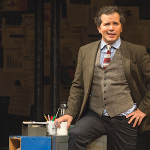 "Written and performed by John Leguizamo and directed by Tony Taccone, ""Latin History for Morons"" is part of Center Theatre Group's 2019-20 season at the Ahmanson Theatre and will be presented Sept. 8 through Oct. 20. (photo by Matthew Murphy)"