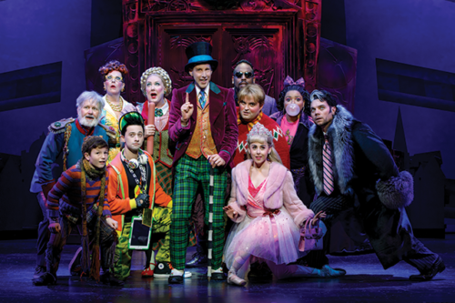 """Charlie and the Chocolate Factory"" runs through April 14 at the Hollywood Pantages Theatre. (photo by Joan Marcus)"