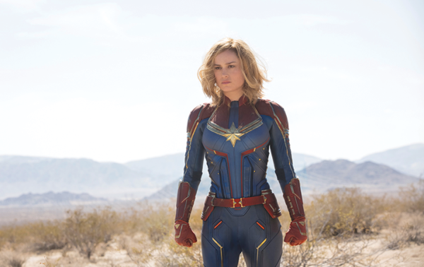 "Brie Larson stars as Carol Danvers in ""Captain Marvel,"" the newest installment in the Marvel Cinematic Universe. (photo © 2019 Marvel)"