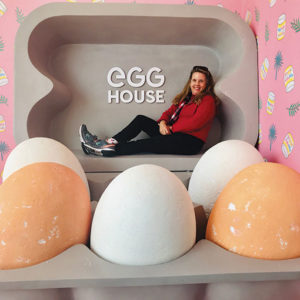 "Just in time for the Easter Bunny's annual visit, enjoy an ""eggs-citing"" adventure at the Egg House, as our restaurant writer, Jill Weinlein, did recently. (photo courtesy of Jill Weinlein)"