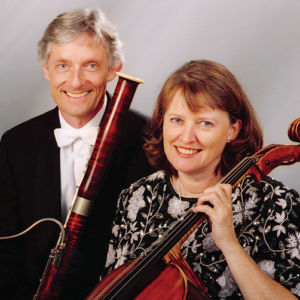 Celebrated husband and wife classical musicians, bassoonist Friedrich Edelmann and cellist Rebecca Rust, will perform works by Bach and Mozart, as well as Holocaust survivor Hans Gál and Israeli composer Max Stern, on Sunday, March 17, at 4 p.m. at the Los Angeles Museum of the Holocaust. (photo courtesy of the Los Angeles Museum of the Holocaust)