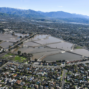 Over the past few months, above-average rainfall has helped replenish the local groundwater aquifers in Los Angeles. (photo courtesy of the Los Angeles Department of Water and Power)