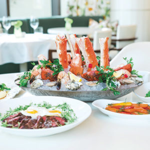 Waldorf Astoria Beverly Hills will offer a delectable Sunday Brunch beginning on March 24. (photo courtesy of Waldorf Astoria Beverly Hills)