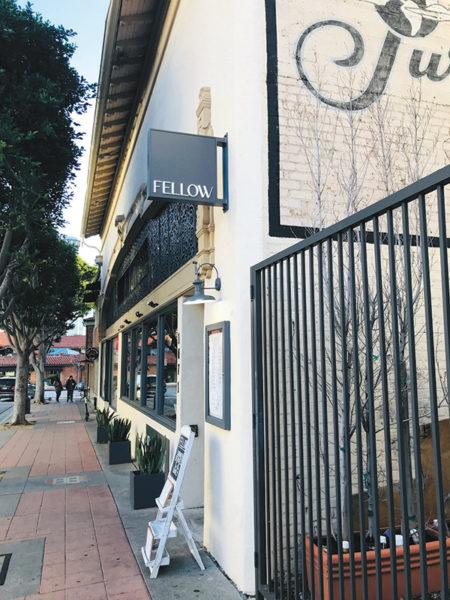 Fellow took over the former Glendon Kitchen & Bar. (photo by Jill Weinlein)